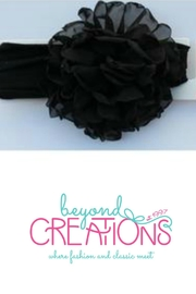 Beyond Creations Chiffon-Penny-Bloom-Floral-Headband - Front cropped