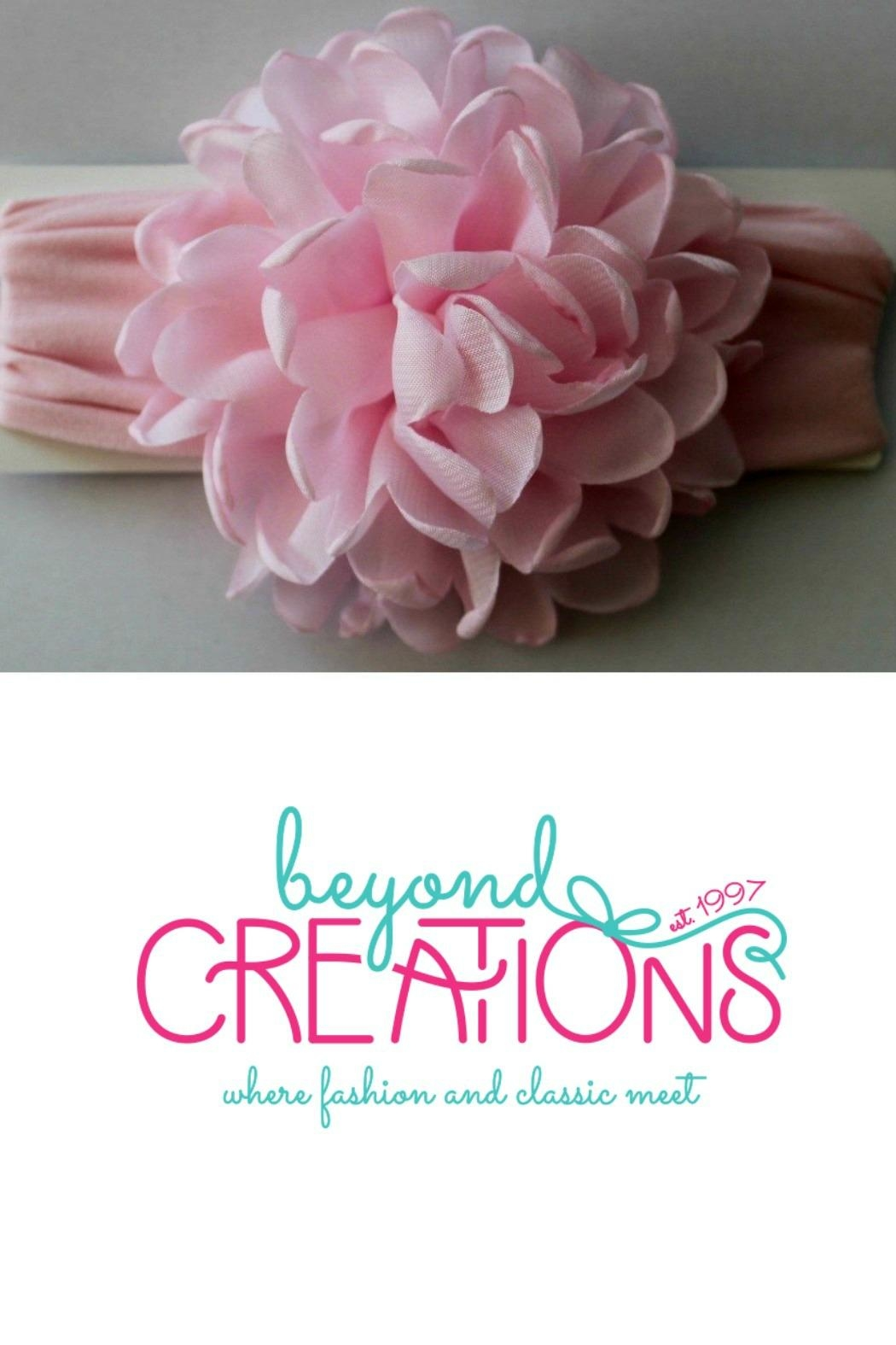 Beyond Creations Chiffon-Penny-Bloom-Floral-Headband - Front Full Image