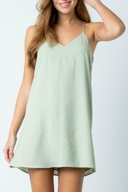 Pretty Little Things Chiffon Shift Dress - Product Mini Image