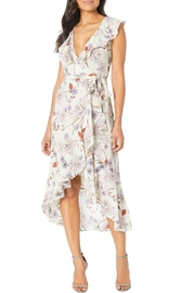 Donna Morgan Chiffon Wrap Dress - Product Mini Image