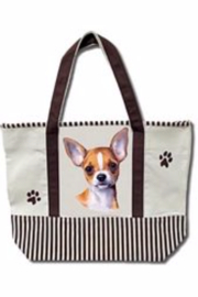 Patricia's Presents Chihuahua Tote Bag - Product Mini Image