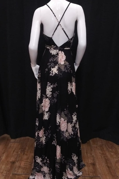 Chikas Black Floral Maxi - Alternate List Image