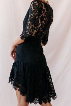 Chikas Black Lace Dress - Alternate List Image