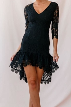 Chikas Black Lace Dress - Product List Image