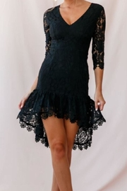 Chikas Black Lace Dress - Product Mini Image