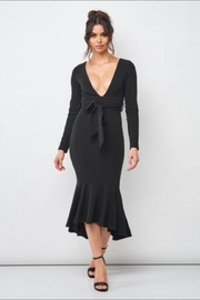 Chikas Black Midi Dress - Product Mini Image