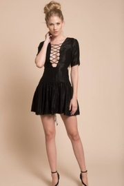Chikas Black Mini Dress - Product Mini Image