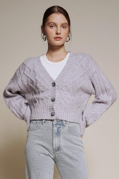 Chikas Button-Up Sweater Cardigan - Product List Image