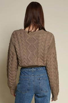 Chikas Cable Knit Sweater - Alternate List Image