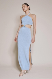 Chikas Cut-Out Halter Maxi - Product Mini Image