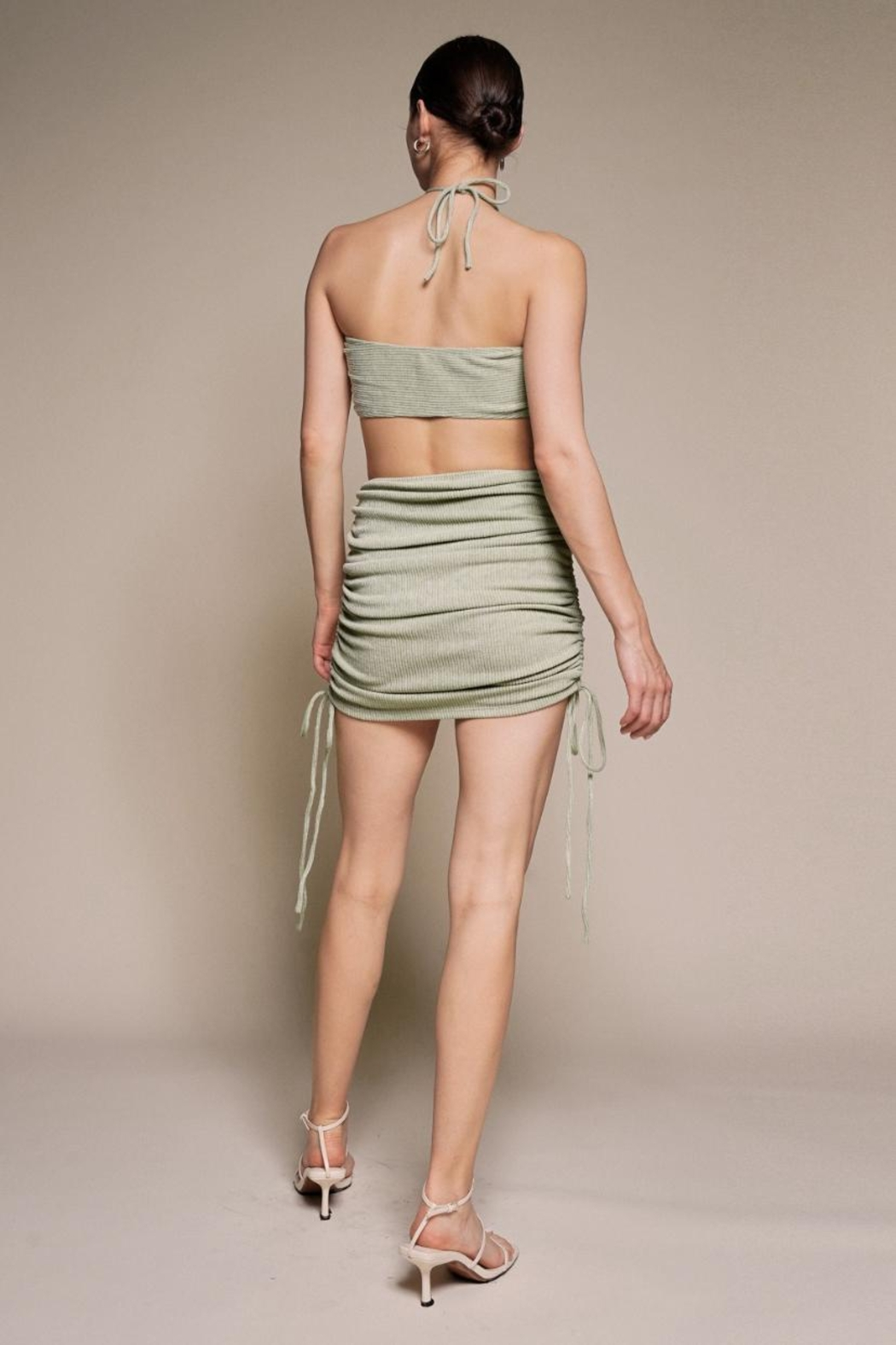 Chikas Cut-Out Halter Mini - Front Full Image