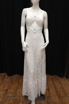 Chikas Cut-Out Lace Maxi - Product List Image