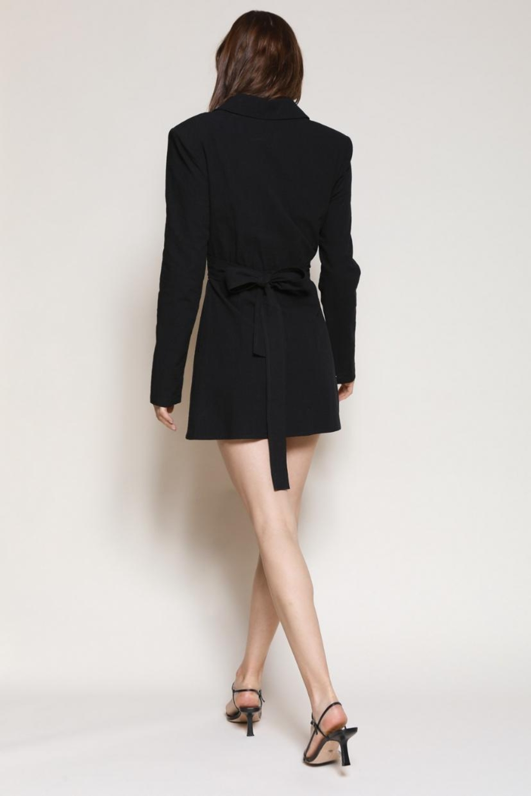 Chikas Cut-Out Mini Dress - Side Cropped Image