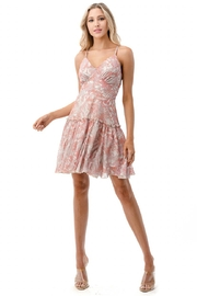 Chikas Floral Dress - Front cropped
