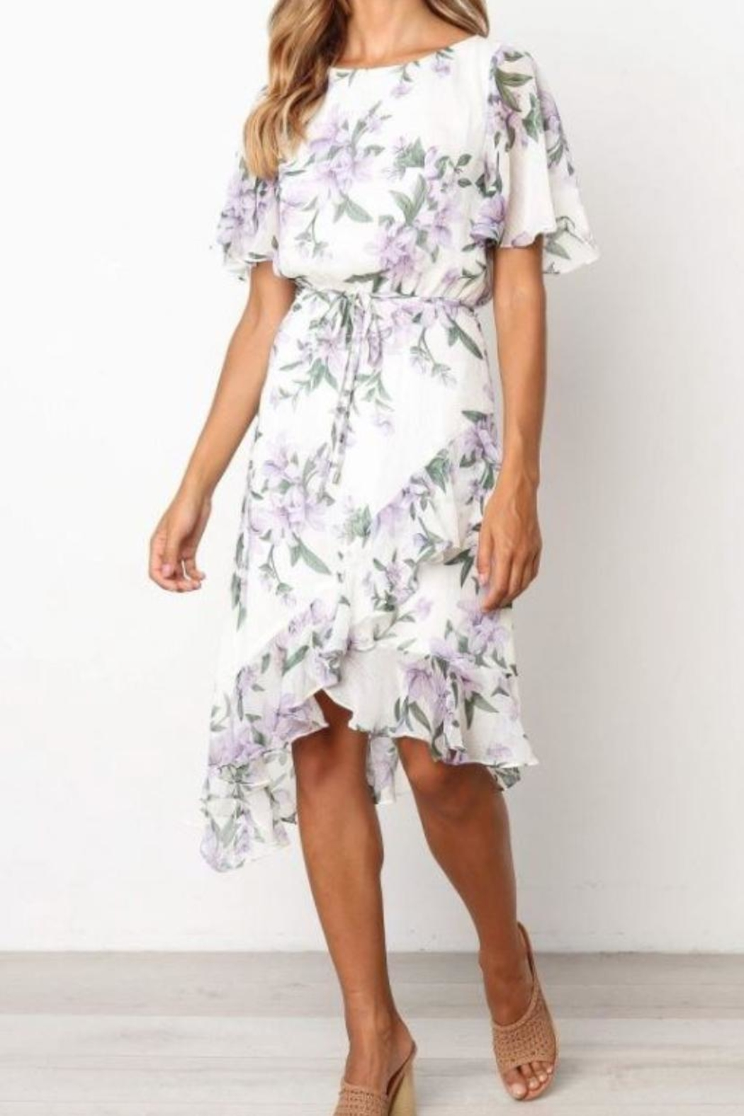 Chikas Floral Dress - Main Image