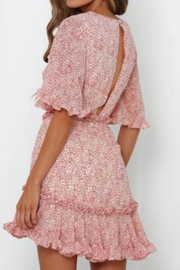Chikas Floral Dress - Front full body