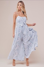 Chikas Floral Jumpsuit - Front cropped