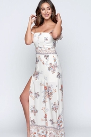 Chikas Floral Maxi Dress - Front cropped