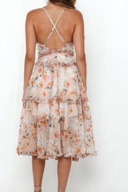 Chikas Floral Midi Dress - Front full body