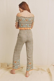Chikas Floral Pants Set - Front full body