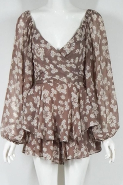 Chikas Floral Romper - Product List Image