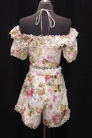 Chikas Floral Shorts Set - Front full body