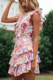 Chikas Floral Tiered Romper - Product Mini Image