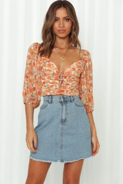 Chikas Floral Top - Product List Image
