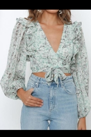 Chikas Floral Top - Product Mini Image