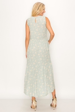 Chikas Flower Jacquard Midi - Alternate List Image