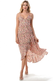 Chikas High-Low Floral Dress - Product Mini Image