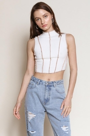 Chikas Knit Crop Top - Product Mini Image