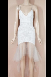 Chikas Lace Tulle Dress - Product Mini Image
