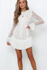 Chikas Long-Sleeve Boho Dress - Product Mini Image