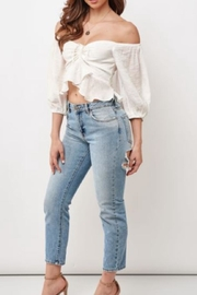 Chikas Off-Shoulder Crop Top - Product Mini Image