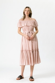 Chikas Off-Shoulder Ditsy Dress - Product Mini Image