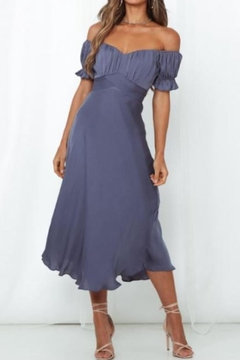 Chikas Off Shoulder Midi - Product List Image