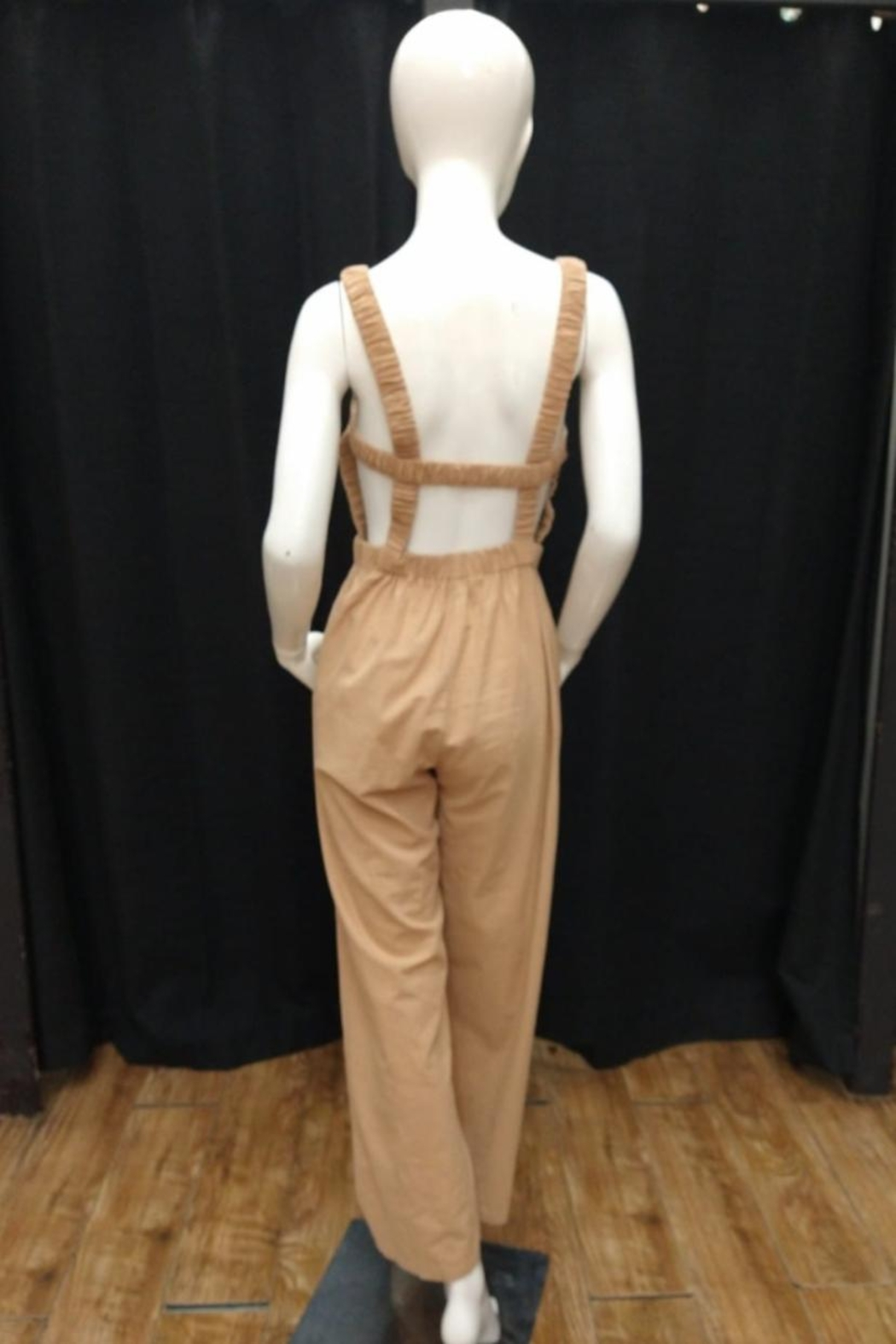 Chikas Open Back Jumpsuit - Front Full Image