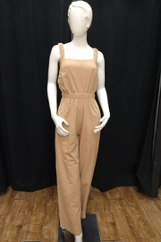 Chikas Open Back Jumpsuit - Front cropped