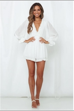 Chikas Open Back Romper - Product List Image