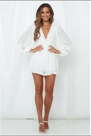 Chikas Open Back Romper - Product Mini Image