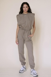 Chikas Padded Shoulder Jumpsuit - Product Mini Image