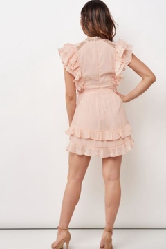 Chikas Peach Mini Dress - Alternate List Image