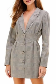 Chikas Plaid Blazer Dress - Product Mini Image