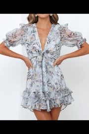 Chikas Ruffled Floral Dress - Product Mini Image