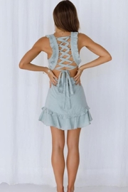 Chikas Side Cut-Out Dress - Front full body