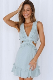 Chikas Side Cut-Out Dress - Front cropped