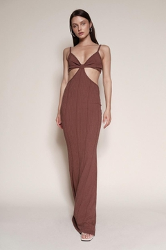 Chikas Side Cut-Out Maxi - Product List Image