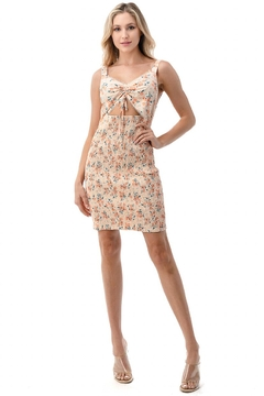 Chikas Smocked Floral Dress - Product List Image