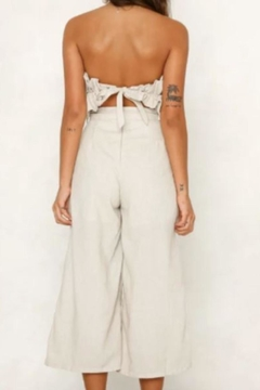 Chikas Strapless Linen Jumpsuit - Alternate List Image
